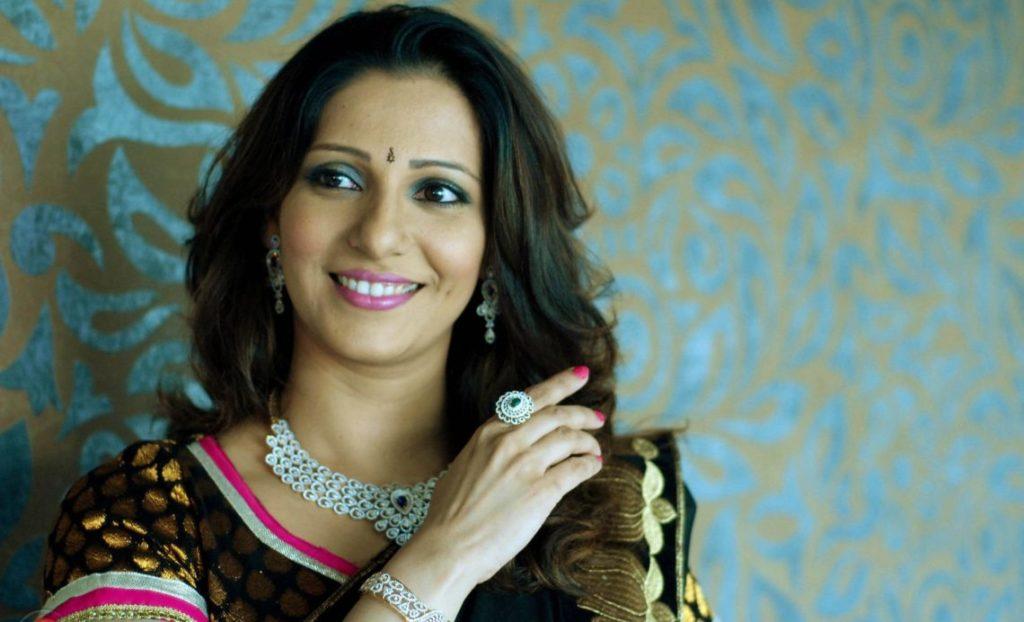 Marathi actress Madhura Velankar